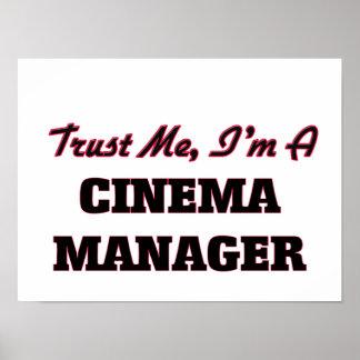 Vertrauen Sie, dass ich ich ein Kino-Manager bin