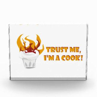 Vertrauen Sie, dass ich ich ein Koch bin! Auszeichnung