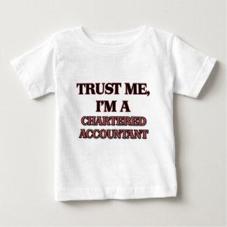 Vertrauen Sie, dass ich ich EIN WIRTSCHAFTSPRÜFER Baby T-shirt