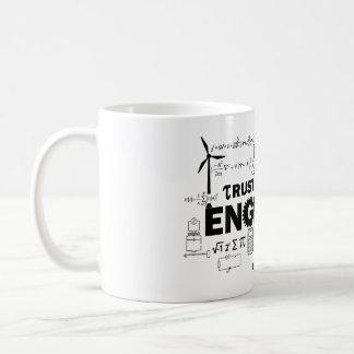 Vertrauen Sie, dass ich ich eine Ingenieur-Tasse Kaffeetasse