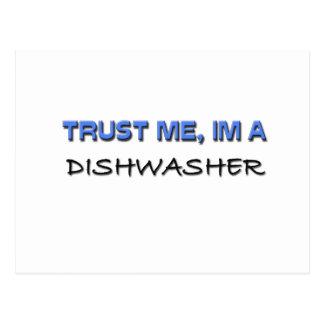 Vertrauen Sie, dass ich ich eine Spülmaschine bin Postkarten