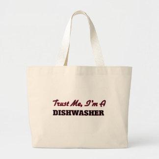 Vertrauen Sie, dass ich ich eine Spülmaschine bin Einkaufstasche