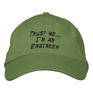 Vertrauen Sie mir… Ich bin ein Ingenieur Bestickte Baseballkappe