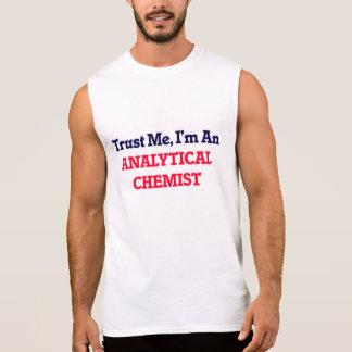 Vertrauen Sie mir, ich sind ein analytischer Ärmelloses Shirt