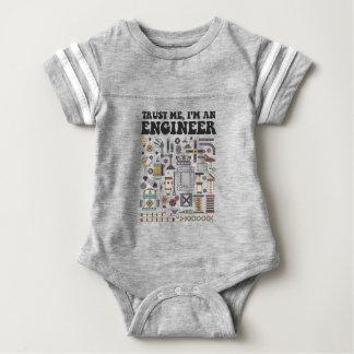 Vertrauen Sie mir, ich sind ein Ingenieur Baby Strampler