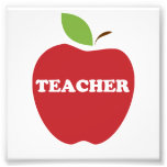 Vertrauen Sie mir, ich sind ein Lehrer-Rot Apple Foto Drucke