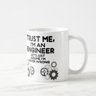 Vertrauen Sie mir, ich sind ein lustiger Ingenieur Tasse