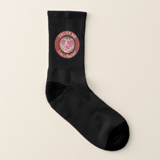 Vertrauen Sie mir, ich sind ein Metzger-förmiger Socken