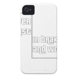 Vertrauen Sie nie auf Bremsen und Frauen Case-Mate iPhone 4 Hülle