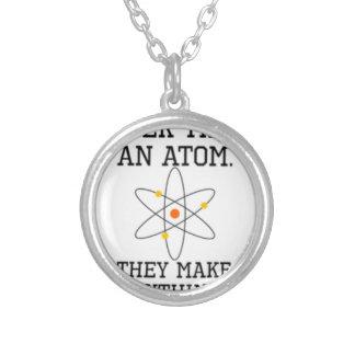 Vertrauen Sie nie einem Atom - lustiger Versilberte Kette
