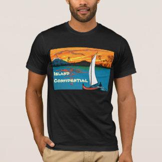 Vertrauliches T-Stück 2 der Insel T-Shirt