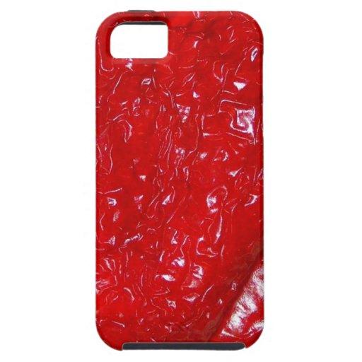 """Vertrockneter Paprika"" Gemüse iPhone 5 Case"