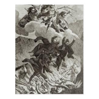 Verurteilung der Jesuite, am 6. August 1762 Postkarte