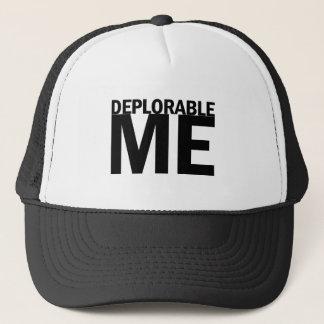 Verurteilungswürdig ich Shirt - Präsident Trump Truckerkappe