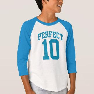 Vervollkommnen Sie der 10 UNI-10. GEBURTSTAG T-Shirt