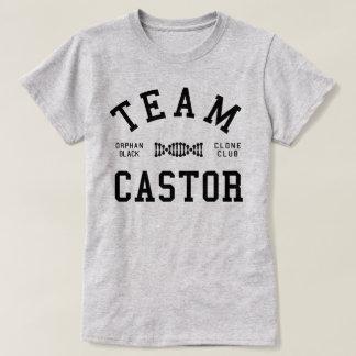 Verwaiste schwarze Team-Gießmaschine T-Shirt