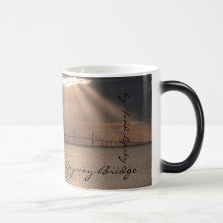 Verwandelnde Sonnenschein Skyway Kaffeetasse