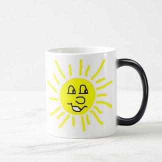 Verwandelnde Sonnenschein-Tasse Verwandlungstasse