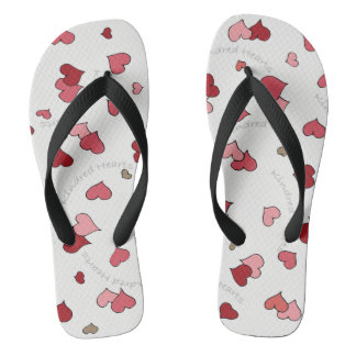 Kindred Hearts Design in Classic Pinks and Reds