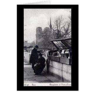 Verwendete Buch-Verkäufer, Notre Dame Paris Karte