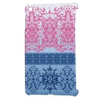 Verwickelte Lilie im Rosa und im Blau Hülle Für iPad Mini