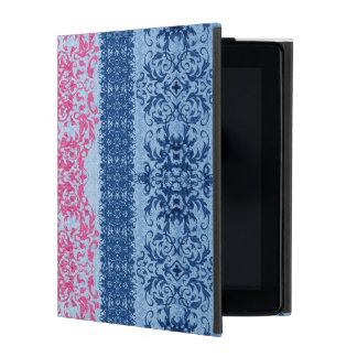 Verwickelte Lilie im Rosa und im Blau iPad Etui