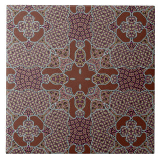 Verwickeltes Patchwork-Motiv Keramikfliese
