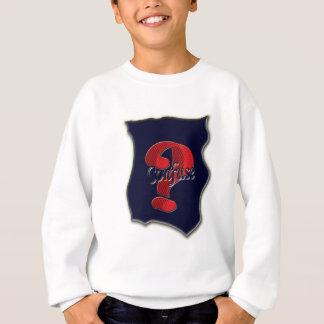 Verwirren Sie fragen Symbol, welches das nette Sweatshirt