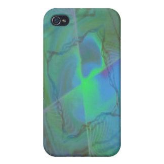 Verwirren Sie mich abstrakte Fraktalfrequenz Etui Fürs iPhone 4