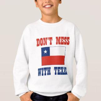 VERWIRREN Sie NICHT Flagge TEXAS w/Chilean Sweatshirt
