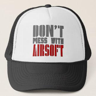 Verwirren Sie nicht mit AIRSOFT! Truckerkappe