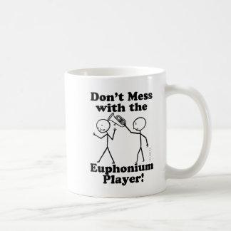 Verwirren Sie nicht mit dem Euphonium-Spieler Kaffeetasse