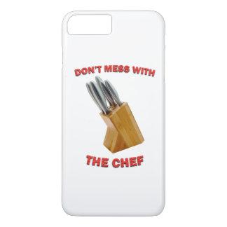 Verwirren Sie nicht mit dem Koch iPhone 7 Plusfall iPhone 8 Plus/7 Plus Hülle