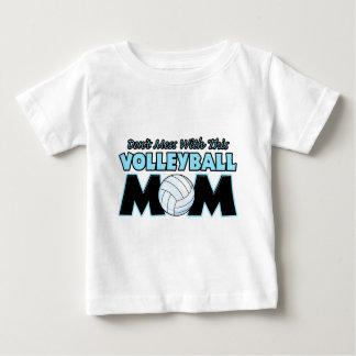 Verwirren Sie nicht mit diesem Volleyball Mom.png Baby T-shirt