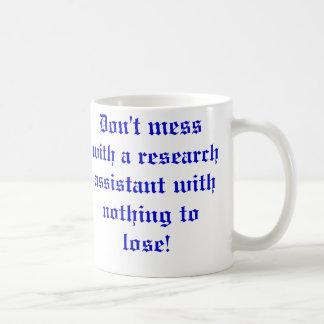 Verwirren Sie nicht mit einem wissenschaftlichen Kaffeetasse
