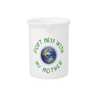 Verwirren Sie nicht mit meiner Mutter Erde Krug