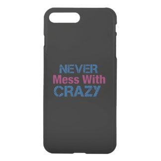 Verwirren Sie nie mit verrücktem Körper iPhone 8 Plus/7 Plus Hülle