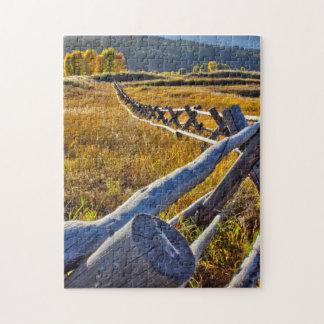 Verwirren Sie, Stern-Tal Wyoming, Herbstfarben Puzzle