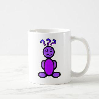 Verwirrt (einfach) kaffeetasse