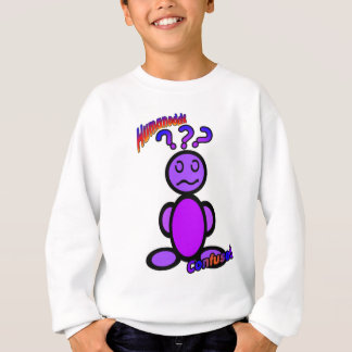 Verwirrt (mit Logos) Sweatshirt