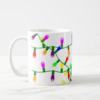 Verwirrte Lichter Kaffeetasse