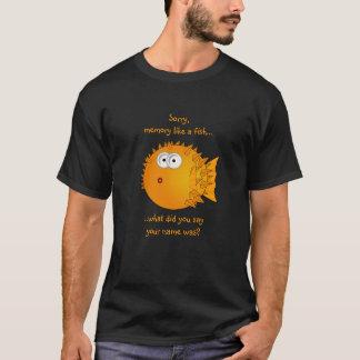 Verwirrte Puffer-Fische - lustige Sprüche T-Shirt