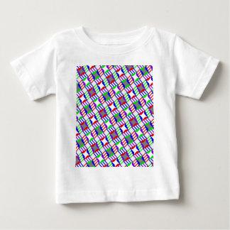 Verwirrte Schritt-sich wiederholender Entwurf Baby T-shirt