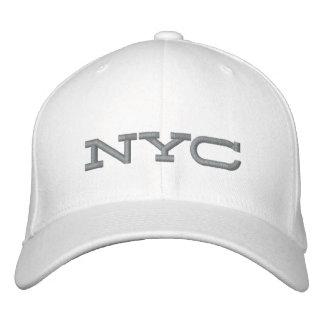 Verwirrtes angepasstes Kappen-Weiß/Grau Bestickte Kappe