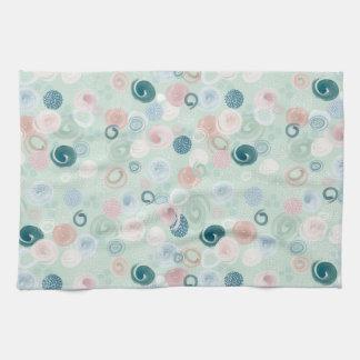Verwirrtes Stellen-Tee-Tuch Handtuch
