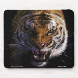 Verwirrungs-bengalische Tiger-feine Kunst-wild Mauspad