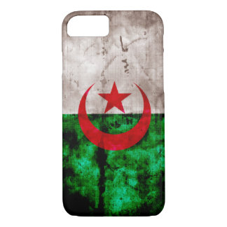 Verwitterte Algerien-Flagge iPhone 8/7 Hülle