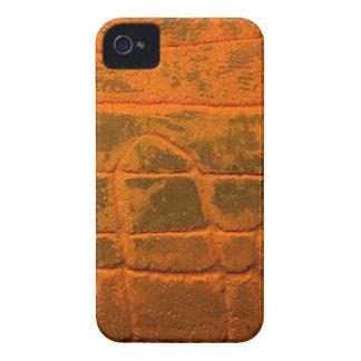 Verwitterte orange Beschaffenheit iPhone 4 Case-Mate Hüllen