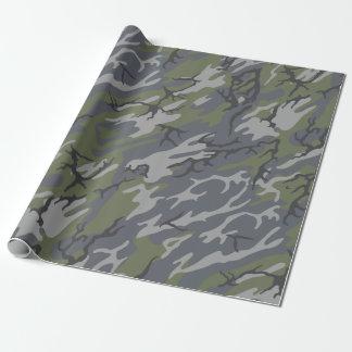 Verwitterte Zutageliegen-Camouflage Geschenkpapier