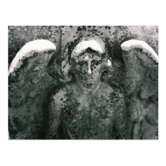 Verwitterter Engel Postkarte